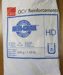 Vlákna Anti-Crak® HD jsou baleny do papírových sáčků po 0,6 kg