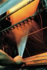 Tažení kontinuálního skleněného vlákna
